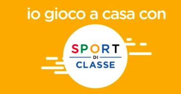 """Io gioco a casa con lo """"Sport di classe"""" –  Torraca e Marconi partecipano al progetto"""